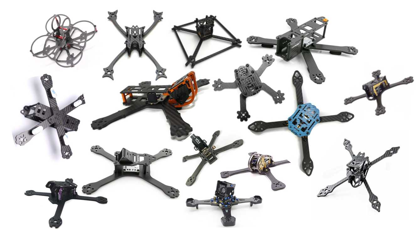 The Complete Guide to Buying 💸 an FPV Quadcopter Frame – DroneTrest ...